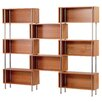 "Blu Dot Chicago 8 Box 75"" Cube Unit Bookcase"