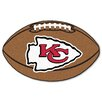 FANMATS NFL - Kansas City Chiefs Football Mat