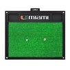 FANMATS NCAA University of Miami Golf Hitting Mat