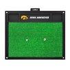 FANMATS NCAA University of Iowa Golf Hitting Mat