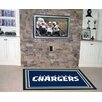 FANMATS NFL - San Diego Chargers 4x6 Rug