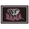 FANMATS NCAA University of Alabama 5x8 Rug