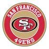 FANMATS NFL San Francisco 49ers Roundel Mat