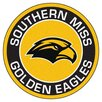 FANMATS NCAA University of Southern Mississippi Roundel Mat
