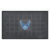 FANMATS MIL U.S. Coast Guard Medallion Door Mat