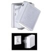Honsel Safe 1 Light Semi Flush Wall Light