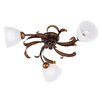 Honsel Capri 3 Light Flush Ceiling Light