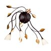 Honsel Design-Wandleuchte 3-flammig Branca