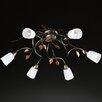 Honsel Kopper 6 Light Semi Flush Ceiling Light