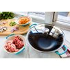 "Le Creuset Signature 16.5"" Wok with Lid"