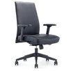 Whiteline Imports Columbia Low-Back Executive Chair