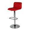 Whiteline Imports Vivo Adjustable Heigh Swivel Bar Stool with Cushion