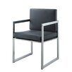 Whiteline Imports Rectangulo Arm Chair (Set of 2)