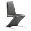 Whiteline Imports Bali Parsons Chair (Set of 2)