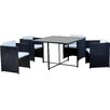 Kingfisher 4 Seater Dining Set