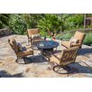 Borealis by Starsong Warren 5 Piece Seating Group with Cushion
