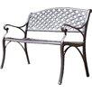 Borealis by Starsong Abel Aluminum Garden Bench