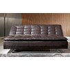 Borealis by Starsong Faux Leather Sleeper Sofa