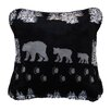 Denali Throws Denali Bear Throw Pillow