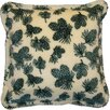 Denali Throws Winter Cones Throw Pillow