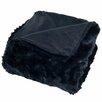 Lavish Home Faux Fur Throw Blanket