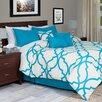 Lavish Home Trellis 7 Piece Comforter Set