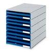 Styro Schubladenbox Styroval mit 10 Schubladen