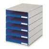 Styro Schubladenbox Styroval mit 5 Schubladen