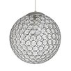 Gallis Crystal 1 Light Globe Pendant