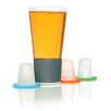 Soiree Dimple Pint 8 Piece Glassware Set with Chilling Inserts