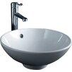 RAK Ceramics Diana Vitreous China 45 cm Vessel Sink