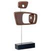 Modern Day Accents Objeto Retro Sculpture