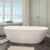 "A&E Bath and Shower Sequana 71"" x 21"" Soaking Bathtub Kit"