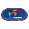 Kid Carpet All Around the World Map Kids Rug