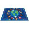 Kid Carpet World Character Classroom Kids Area Rug
