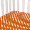 Sweet Potato by Glenna Jean Calliope Fitted Crib Sheet