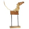 Ibolili Horse Decor with Stand Sculpture