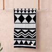 Scantrends Ferm Living Jacquard Knitted Inka Cotton Blanket