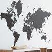 Scantrends Ferm Living World Map Wall Sticker