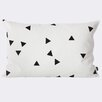 Scantrends Ferm Living Mini Triangle Cotton Lumbar Pillow