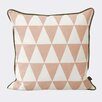 Scantrends Ferm Living Large Geometry Cotton Throw Pillow
