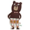 Scantrends Ferm Living Kids Stuffed Mr. Bear Cotton Pillow