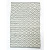 CLM Boston Diamond Gray/White Indoor/Outdoor Area Rug