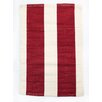 CLM Harvard Red/Ivory Indoor/Outdoor Area Rug
