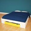Nexera Taxi Storage Panel Customizable Bedroom Set