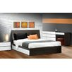 Nexera Allure Storage Sleigh Bed