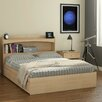 Nexera Alegria Full Storage Platform Bed