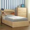 Nexera Alegria Platform Customizable Bedroom Set