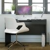 Nexera Next Computer Desk with Retractable Shelf