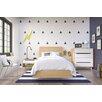 Nexera Nordik Platform Customizable Bedroom Set